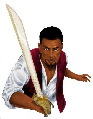 Сайрус, главный герой TES: Redguard