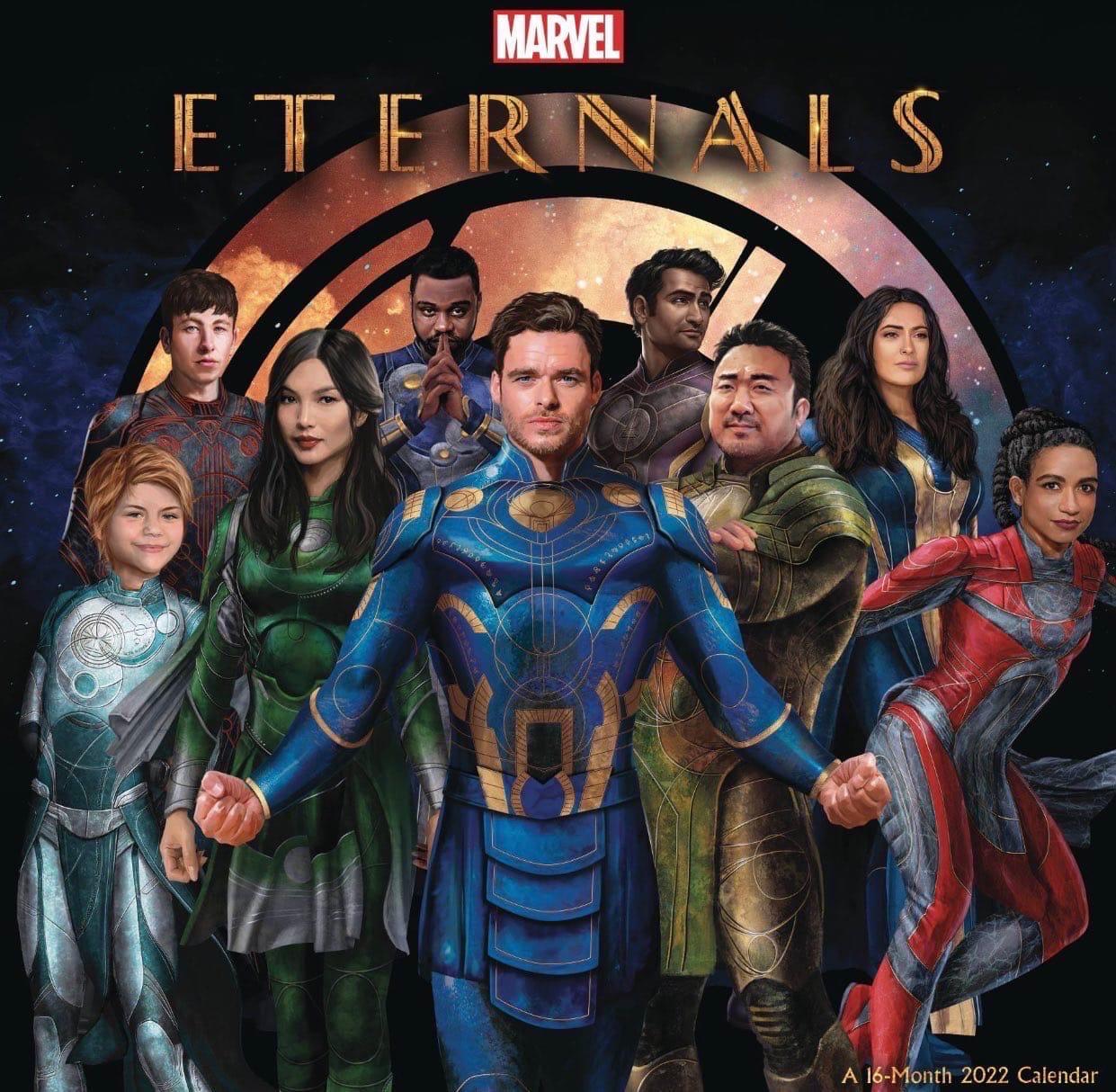 Промо-арт фильма «Вечные» от Marvel | GeekCity