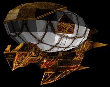 Дирижабль из TESA: Redguard